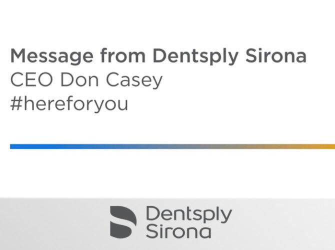 Info from Dentsply Sirona World